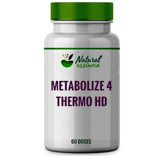 Metabolize 4 250mg + Thermo HD 250mg 60 doses