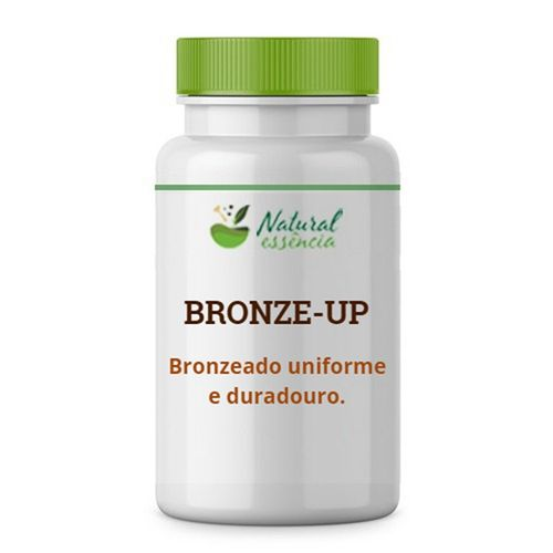 Cápsulas Bronze UP! - Bronzeado uniforme.
