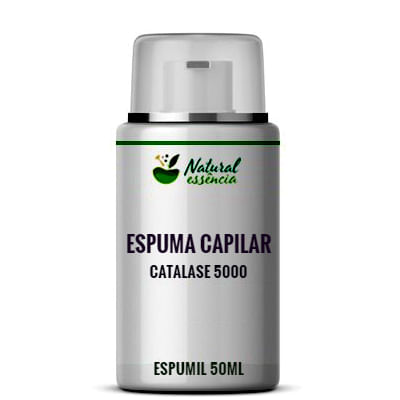 Espuma Capilar com Catalase 50ml