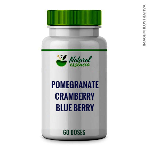 Blueberry + Cramberry + Pomegranate + 60 doses.